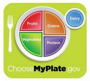 MyPlate - The new eduacational food icon from the USDA