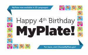 Happy Birthday MyPlate