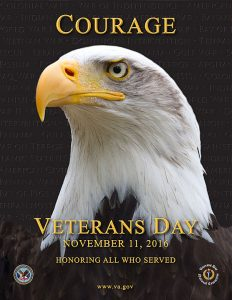 Nov 11, 2016 Veterans Day