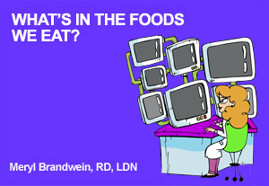 What's in the food we Eat?