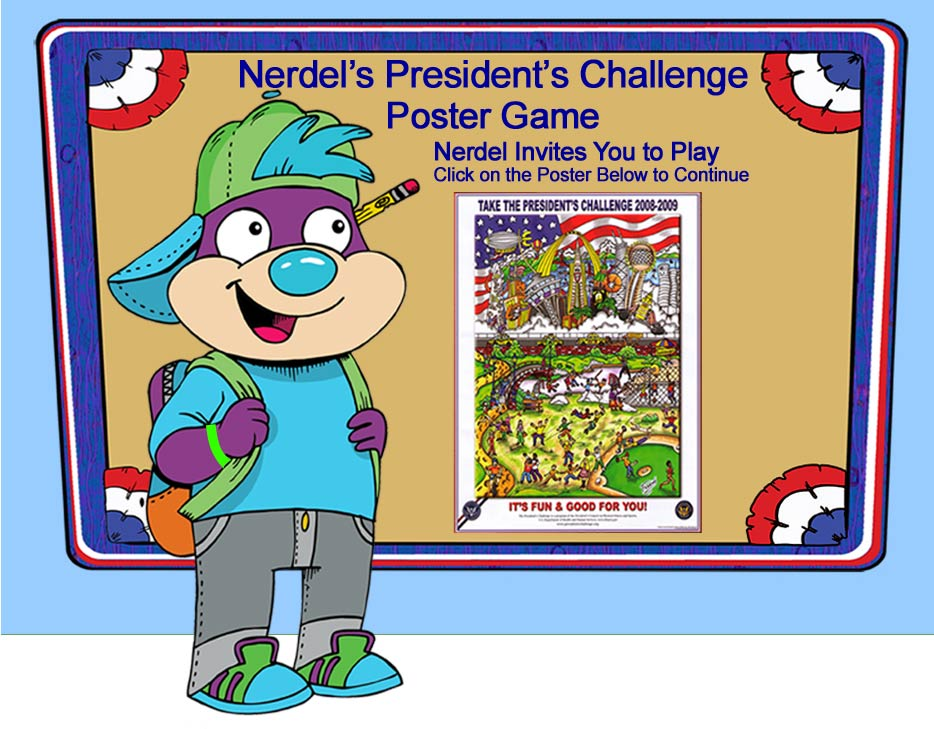 President's Challenge Poster Game